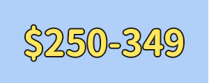 $250-$349